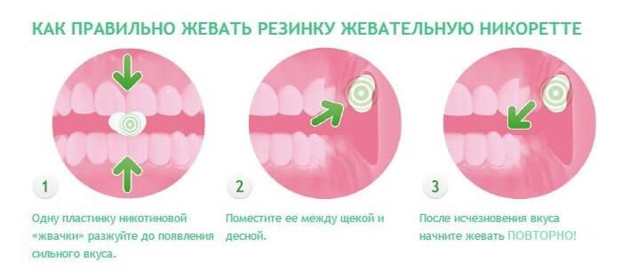 Как правильно жевать жвачку