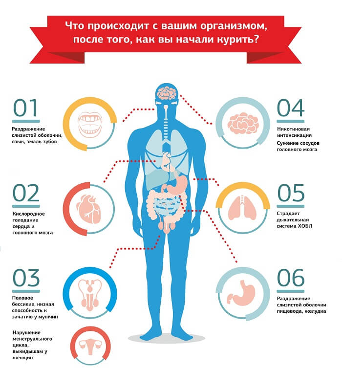 Что происходит с органами