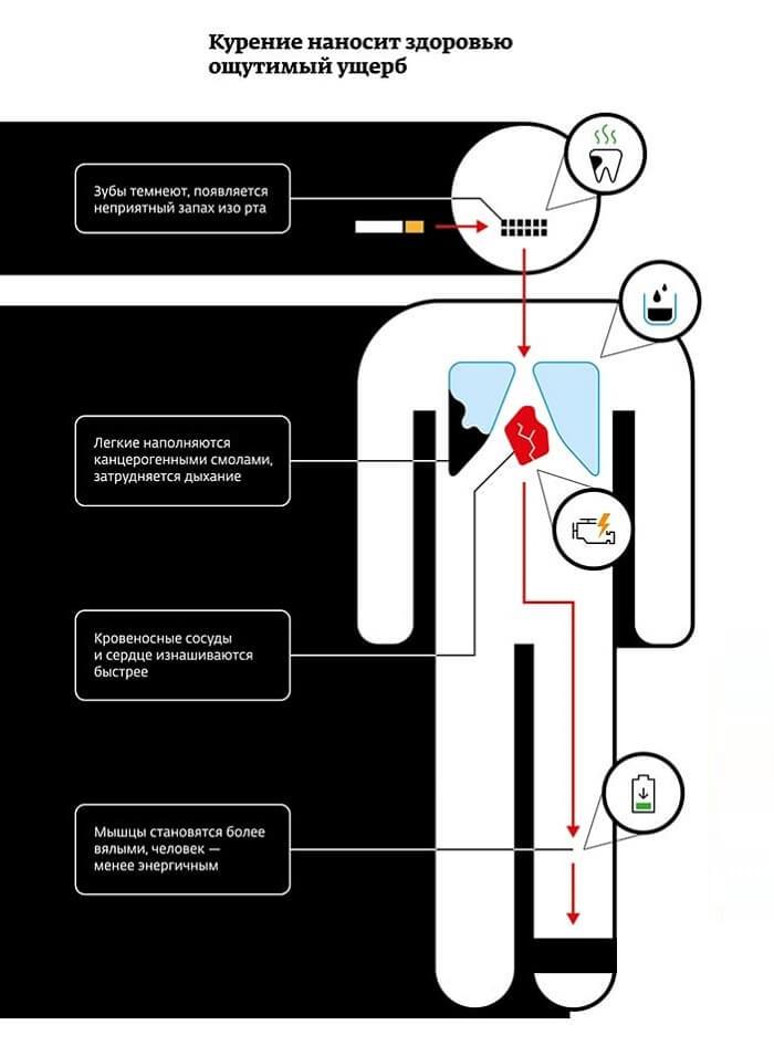 Влияние ментоловых сигарет